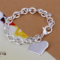 Wholsale new 925 Sterling Silver fashion jewelry BRACELET bangle free shipping Penoyjewelry B312