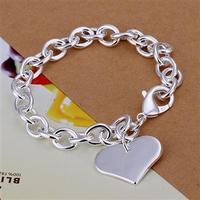 Wholsale new 925 Sterling Silver fashion jewelry BRACELET bangle free shipping Penoyjewelry B312