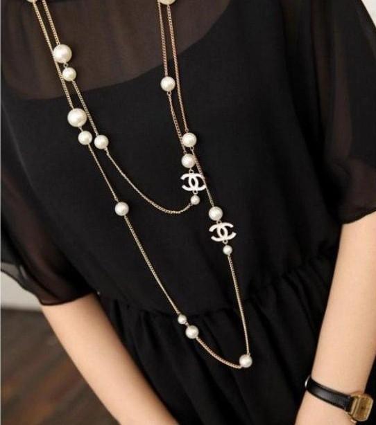 Шанель ожерелье своими руками