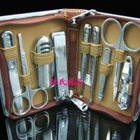Japan set finger scissors nail clipper finger plier 9 set gift set 70086