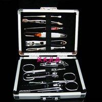 Japan finger scissors nail clipper finger plier 11 set gift aluminum alloy set 70099