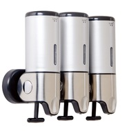 Wholesale Free Shipping!Three  Liquid soap dispenser made of stainless steel