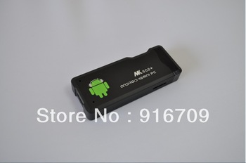 Promotion! 4.0 Android  MK802 Mini PC1GB RAM+4GB ROM  google TV,Smart TV Box,allwinner A10 free shipping