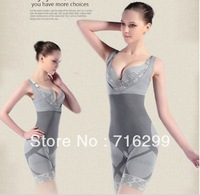 Hot Sale Magic slimming underwear gen bamboo charcoal slimming suits Pants Bra Bodysuit Body Shaping clothing dhl Free shipping