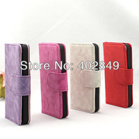 10PCS/Lot, 2013 High Quality Leather Case for Mobilephone 5g, Free Shipping! Mix Order!