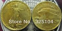 1923 Gold $20 Saint Gaudens Double Eagle Coin COPY FREE SHIPPING
