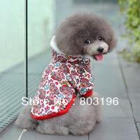 Free Shipping Dog Cotton hoodie Dog Apparel Dog Supply  S M L XL XXL