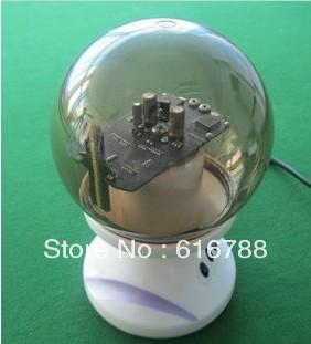 Mira Ball - 360 Degree Display LED Advertising Message Globe 24 * 160 pixels 120 mm mini color advertising ball, free shipping(China (Mainland))