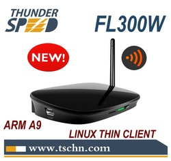Linux Embedded Thin Client Network Terminal Mini Computer with Dual Core 1Ghz A9 CPU 512MB DDR RDP 7.0 Protocol(China (Mainland))