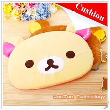 Cute cartoon Easy  bear cushion, soft warm pillow free shipping