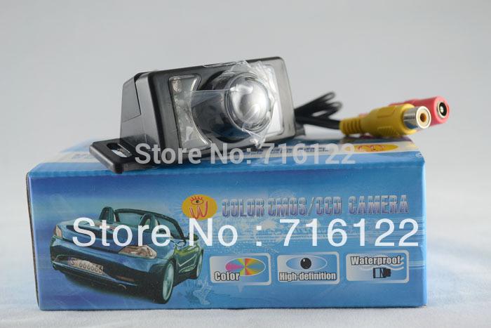 DISCOUNT !! 5PCS New Waterproof E350 Car Back Up Rear View Day/Night Camera NTSC 628X582 Pixel(China (Mainland))