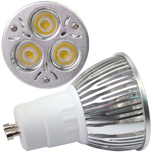 Energy Saving GU10 3X2W 6W LED Spot Bulb Lamp Light 60 Warm White 85~265V A896