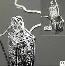 wholesale prayer box necklace