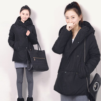 Winter 2012 wadded jacket women's medium-long thickening with a hood cotton-padded jacket cotton-padded jacket outerwear