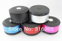 Mini Portable Bluetooth Wireless stereo Speaker with MIC ControlTalk HandFree Support TF card Singapore post Free Shipping