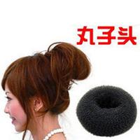 2012 Fashion korea doughnuts  hair accessory  DZ1331