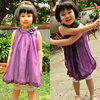 Girls Dress Girls Sleeveless Dress Girls Solid Color Dress, Free Shipping K0137