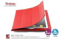 Yoobao iSmart Genuine Leather Stand Smart Case For iPad3 New iPad iPad2  Red