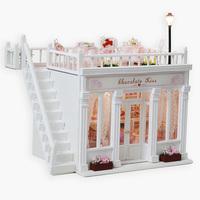 Free shipping Handmade diy romantic gift wood assembling model gift girlfriend gifts