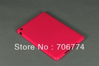 Brand New! Hot Pink Hybrid TPU Silicone Protective Cover Skin Case for Apple iPad Mini Free Shipping 10pcs/lot