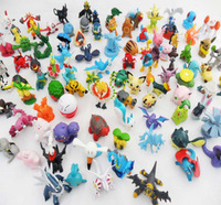 Lovely kids children gift small Pokemon action figure/capsule toys Free shipping