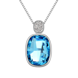 Min.order is $15 (mix order) Free Shipping!Austria Crystal Necklace - insubstantial objects Fashion Crystal Necklace!#6605(China (Mainland))