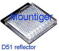 Reflecto size 51x51 mm for photoelectric sensor FP31  FM12 FM18 Retro-reflective