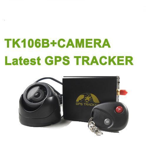 GSM/GPRS/GPS Remote control Car GPS Tracker TK106B with Camera(China (Mainland))