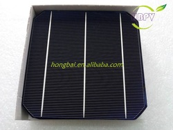 Cheap 156mm Monocrystalline Solar Cell For Sale High Efficiecy 18.6% Power Up To 4.4W(China (Mainland))