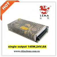 LS-145-24 145W 24V 6A single output  switching power supply