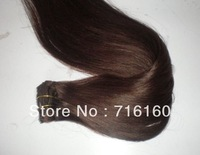 Factory Price Dark Brown Color#2 Top Quality Malaysian Hair Natural Straight Human Hair Weaving