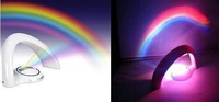 Hot new Rainbow Colorful Amazing Rainbow Projector LED Night Light in your room