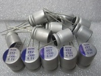 Best  price  ,100pcs  New original solid capacitors motherboard graphics capacitance 1500uf/6.3V