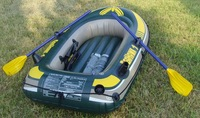 Seahawk single person inflatable boat 193x108x38cm fishig boat 68345