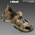 2012 summer new arrival teva the first layer of leather outdoor shoes sandals walking shoes outdoor male sandals