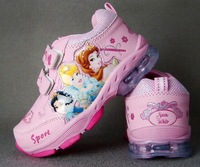 Free shipping Princess Snow White girl sports shoes ,kids's shoes,girl's shoes