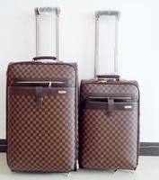 Vintage suitcase trolley luggage travel bag luggage bag male female password box luggage