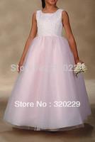 Flower girl dresses for weddings Girl party dress Flower Girls dresses  LJ036 Vestido de dama de honra de crianca