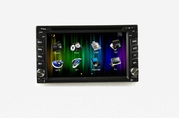two din  NISSAN  universal  6.2 car DVD player