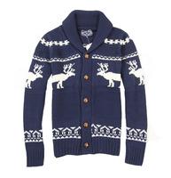 Fashion male loose all-match sweater elizabethans pattern 0.75 1b12