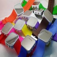 New Best Fashion Sport Rubber Strap Digital LED Watch Women Men Gift