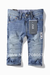 Free shipping 6pcs/lot fashion denim boys jeans brand children's long pants for 2-10 years kids in stock(China (Mainland))