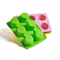 Whoesale High Quality Silicone Tray Cake  Pops Mould Cupcake Baking Mold Party Kitchen Tools Free Shipping