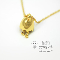 Yyogurt  jewelry new world eggshell necklace free air mail