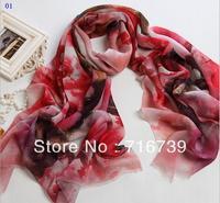 Wholesale Autumn&Winter women's wool Scarves,Fahion print warm female elegant Digital print scarf&wraps,free shipping,ID:1WP027