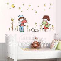 The third generation DIY wall stickers nighty-night cartoon child housing decoration stickers