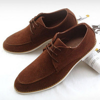 Free shipping 2013 popular men's casual leather shoes fashion male casual commercial shoes men's Skateboarding Shoes