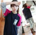 Free shipping! 2012 women sweaters Fashion cute pullovers ladies' clothing Round neck long-sleeved hoodies Wholesale 2206