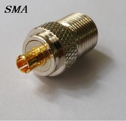 Free Shipping + 10PC MCX male to F female RF connector adapter NO75(China (Mainland))