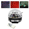 Digital RGB LED Crystal Magic Ball Effect Light MP3 SD USB DMX Stage Lighting+Remote Control free shipping,wholesale,# 220192